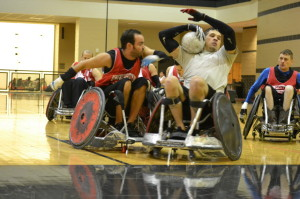 Adaptive Athletics hosted its annual Wheelchair Rugby Camp June 26-29.  | Caitlin Hilton/The Daily Cougar