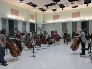 Students learn and prepare for competition in one of the many Master classes.  |  Courtesy of the Texas Music Festival.